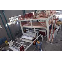 China CE PP Non Woven Fabric Machine , S SS SMS PP Non Woven Fabric Making Machine on sale