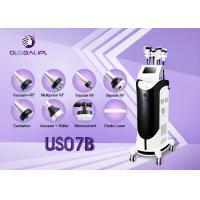 Buy cheap Body Shaping Ultrasonic Slimming Machine Face Thinner 2 Fat Freeze Handles from wholesalers