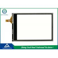 Wholesale Transparent Resistive Touch Panel 4 Wire For GPS / Navigation / Rearview Mirror Camera from china suppliers