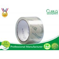 Quality 48MM X 66M OPP Crystal Clear Tape Low Noise Acrylic Adhesive For Carton Sealing for sale