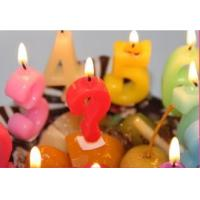 Buy cheap Newest style hot selling flameless number birthday candle handmade candles from wholesalers