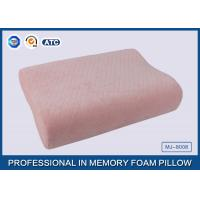 Wholesale Baby Pillow Filling Anti bacterial Soft Memory Foam Toddler Pillow wtih Pink Cotton Pillow Cover from china suppliers