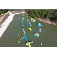 Wholesale Logo Printing Customized Inflatable Water Sport / Aquapark For Lake PVC Tarpaulin from china suppliers