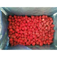 Wholesale No Artificial Colors Bulk Frozen Strawberries With Whole/ Dice / Slice Shape from china suppliers