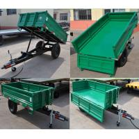 Wholesale Agricultural small tractor 4 wheel farm trailer for sale from china suppliers