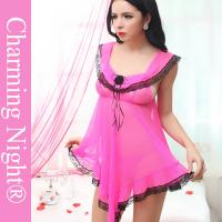 Wholesale Super Sex Women Sleepwear Latest Fashion Sexy Transparent Babydoll Lingerie For Women from china suppliers