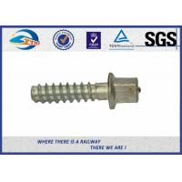 Wholesale Electric Zinc Plated 5.6 Grade Railway Sleeper Screws DIN Standard For Steel Rail from china suppliers