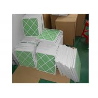 Buy cheap Disposable Z - Line Pleated Panel Air Filters , Industrial Air Purifier With Washable Filter from wholesalers