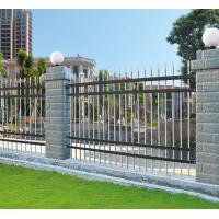 Wholesale Antique brass color wrought iron fence Residential placeQ195 steel fence panels model DK007 from china suppliers