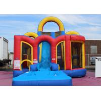 Wholesale Safety Aqua Blaster Inflatable Combo Slide With Obstacle Course For Playing from china suppliers