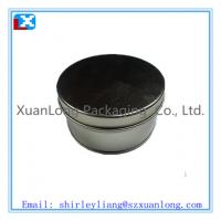 Wholesale Round tea tin can with tin lid from china suppliers