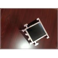 China T5 / T6 Silvery Anodized Aluminium Frame Profile For Building , Aluminium Window Profiles for sale
