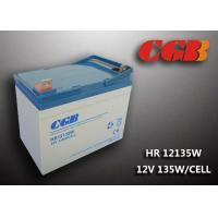 Wholesale HR12135W  12V 33Ah Energy Storage Battery , AGM Rechargeable V0 Battery from china suppliers