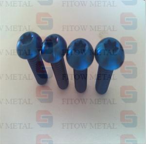 Wholesale GR5 Ti6AL4V M6x1.00x20 Titanium Conical Head Bolt Ti6Al4V Aerospace from china suppliers