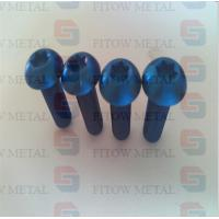 Wholesale Gr5 Titanium ISO7380 Hexagon Socket Button Head Screws M12 M16 from china suppliers