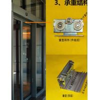 Wholesale 420 / 600cm Rail Automatic Glass Sliding Doors Commercial With Selflearning Function from china suppliers