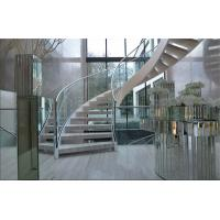 Wholesale Prefabricated Building Curved Stairs Stainless / Carbon Steel Beam Material from china suppliers