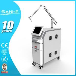 China Active Q-Switch EQ Powerful 1064nm 532nm q-switch nd yag laser / Nd yag laser tattoo remov on sale