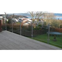 Quality Discount Stainless Steel Posts Clamp Railing Systems Glass Balcony Balustrade for sale