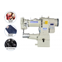 Wholesale Single Needle 240V 750W Cylinder Bed Sewing Machine from china suppliers