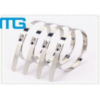 Wholesale Naked Cable Accessories Ball Lock Stainless Steel Cable Ties 4.6 X 450mm from china suppliers
