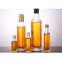 Wholesale Transparent Glass Oil Bottles Varity Capacity , Crystal Glass Camellia Oil Bottle from china suppliers