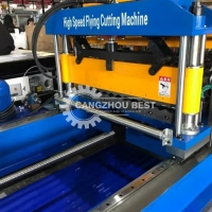 China Galvanized Steel 30m/Min 0.8mm Corrugated Sheet Making Machine on sale