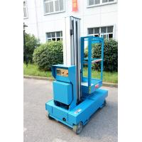 Quality Blue Self Propelled Aerial Lift Single Mast Self Propelled With 5 m Working Height for sale