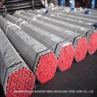 ASME SA214 Welded Carbon Steel Heat Exchanger Tubes Round Shape