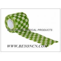 Wholesale Human Vet Joints Immobilization Cohesive Flexible Bandage / Coloured Bandages from china suppliers