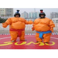 Wholesale Amazing Adult Inflatable Outdoor Games / Inflatable Sumo Wrestler Suit from china suppliers