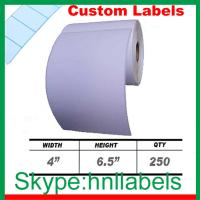 Wholesale 4x6-inch Direct Thermal Label Rolls for Zebra/ Eltron Thermal Printers from china suppliers