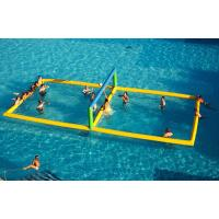 Wholesale Funny Commercial Inflatable Aqua Park Inflatable Volleyball Court For Water from china suppliers