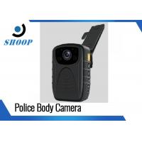 Quality 3000mAh 1296P / 1080P Police Wearing Body Cameras , IR Small Night Vision Body for sale