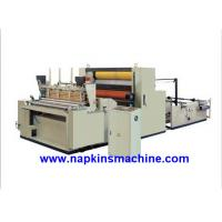 Wholesale Full Automatic Toilet Paper Making Machine , Jumbo Roll Toilet Tissue Machine from china suppliers