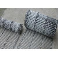Wholesale 1.8 Mm Thickness Flat Wire Mesh Belt SUS 304 With High Temperature Resistance from china suppliers