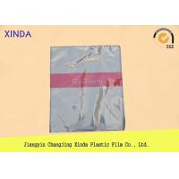 Wholesale Breathable die cut handle flat bottom clear bags with a air hole perfect quality from china suppliers