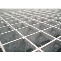 Wholesale 25 * 5 / 32 * 5 Pressure Locked Steel Grating Walkway 24 - 200mm Cross Bar Pitch from china suppliers