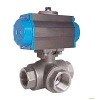 Wholesale Silver Actuated Pneumatic Ball Valve Fire Protection Design With Thread from china suppliers