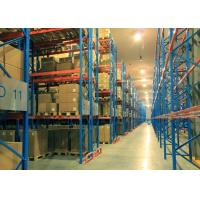 Wholesale Steel Pallet / Wooden Pallet Double Deep Pallet Racking Systems For Groceries from china suppliers