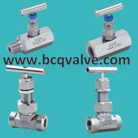 Wholesale high pressure 3000psi stainless steel ss316 NPT instrument needle valve from china suppliers