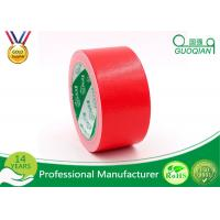 Quality High Tack Rubber Adhesive Industrial Cloth Coloured Duct Tape For Decoration for sale