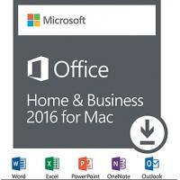 Buy cheap Microsoft MAC Office 2016 Home & Business Full Version For MAC license Online activation from wholesalers