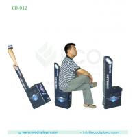 China Folding Shopping Trolley Bag With Chair, Cardboard Trolley Bags For Exhibition on sale