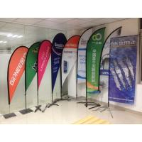 Wholesale Digital Printing Teardrop Flying Flags with Cross Feet from china suppliers
