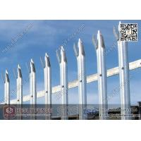 Wholesale 1.8X2.75m Steel Palisade Fence With Powder Coated | China Palisade Fencing Factory from china suppliers