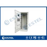 Wholesale 48U Outdoor Telecom Equipment Cabinet With Anti-theft Lock Cover Temperature Control Double Wall Steel Cabinet from china suppliers