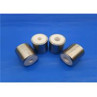 Buy cheap Refractory Zirconia Ceramic Piston Sleeve / Insulator Valve With Metal Parts from wholesalers