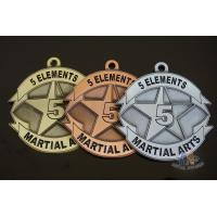 Buy cheap Use Your Own Design Or Logo Metal Award Medals Gold / Silver / Copper Antique from wholesalers