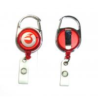 Wholesale Fashion Durable Retractable Badge Reels Free Artwork Under Customer Logo from china suppliers